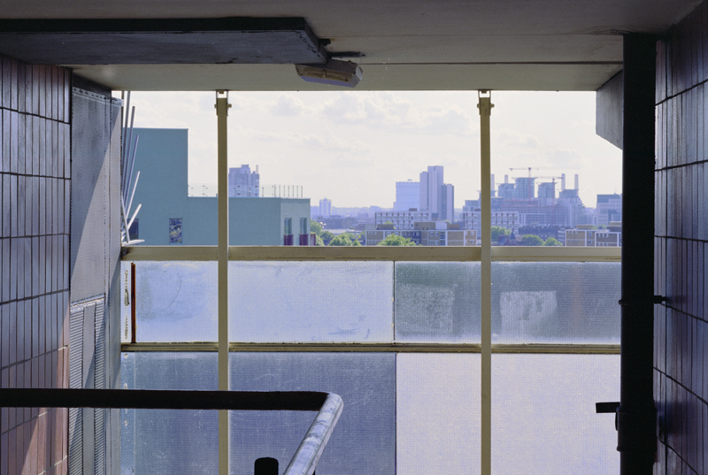 Temporary Views (Heygate Estate) - C-print - 2009